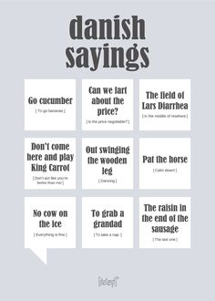 Danish Sayings plakat You Funny, Really Funny, Funny Jokes, Funny Images, Funny Pictures, Funny Posters, Learning The Alphabet, Most Popular Memes, Life Memes