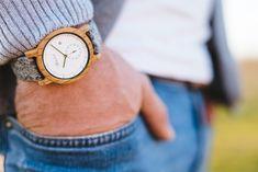 športové hodinky vyrobeneňé z dreva od Waidzeit Wood Watch, Watches, Accessories, Fashion, Wooden Clock, Moda, Wristwatches, Fashion Styles, Clocks
