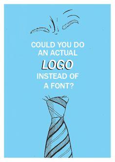 ¿Puedes hacer un logo de verdad en lugar de una fuente?