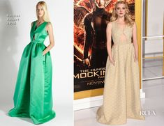 Natalie Dormer In Rochas – 'The Hunger Games: Mockingjay – Part 1′ LA Premiere