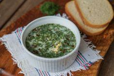 gotować! - Chłodnik szczawiowy Palak Paneer, Ethnic Recipes, Food, Essen, Meals, Yemek, Eten