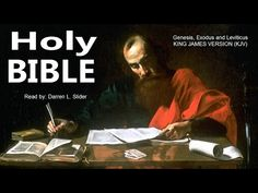 Holy Bible - Genesis, Exodus & Leviticus, Creation Adam & Eve - King James Version KJV - Audio Book - YouTube