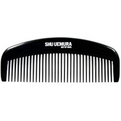 Shu Uemura Art of Hair Japanese Geisha Comb ($17) ❤ liked on Polyvore featuring beauty products, haircare, hair styling tools, brushes & combs, fillers, beauty, accessories, hair, black and hair comb