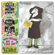 Miss Nelson is missing! - worksheets