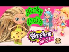 This is my how to video of how I made this custom Shopkins Season 1 inspired Kooky Cookie Shoppies doll! I rerooted her hair , made a new dress, made a cl. Shoppies Dolls, Shopkins And Shoppies, Neon Gas, Play Doh, Disney Frozen, Shopkins Season 1, Shopkins Characters, Cookie Swirl C, Girl Dolls