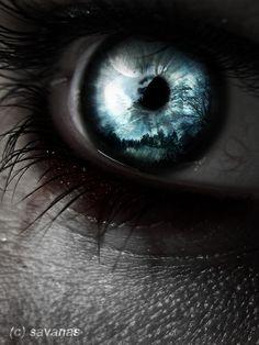 vampire eyes | Vampire Eye II by SavanasArt