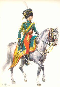 Illustrateurs - Tritt W. Armeé de France 1720-1814 - Les costumes militaires -