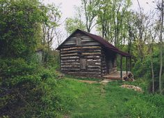 Rugged Remote Log Cabin