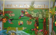 Rumble in the Jungle classroom display photo - Photo gallery - SparkleBox