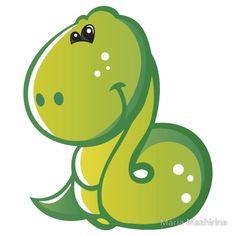 Pretty smiling snake