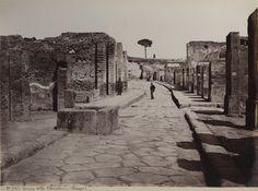 Strada dell'Abbondanza, Pompei, Catalogue of Giorgio Sommer's pictures - Wikimedia Commons
