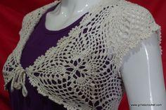 Free Crochet Pattern : Elegant Bolero