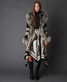 Love to see this gorgeous jacket with jeans and some awesome Boho Style Accessories...