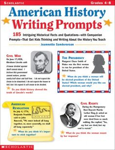 writing prompts for social studies