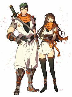 Genji & D.VA