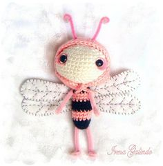 Pink Dragonfly. Love this little gal, great for topper on a present