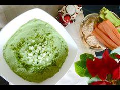 Pasta de Espinafre com Pepino - Natal Vegano, Ceia Vegana - Receitas Veganas - YouTube