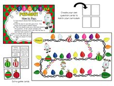 Small group and individual math and literacy activities to use all month long!  Games, printables, centers, and more!