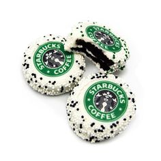 Starbucks design on baked goods!