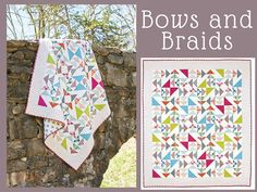 Bows and Braids Quilt Kit