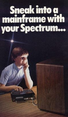2 | 13 Goofy Ads From The Early Days Of Computing | Co.Design | business + design//  A tribute to War Games?