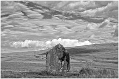You have to ask yourself how did they manage to transport this giant stone to this remote site. And for what purpose, was it connected to the constellations or to mark a resting place or both.  It has been suggested it was to mark a territorial boundary but only the Maen Llia Standing stone knows the ancient riddle.