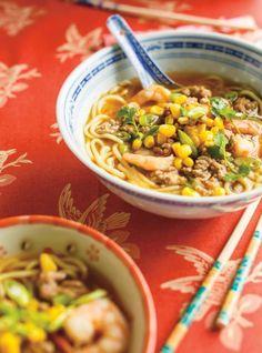 Ground Pork and Shrimp Ramen Soup , Ground Pork and Shrimp Ramen Soup , You can find Pork and more on our website.Ground Pork and Shrimp Ramen Soup , Ground Pork and Shrimp Ramen Soup , Pork Soup, Ramen Soup, Noodle Soup, Pork Recipes, Asian Recipes, Ethnic Recipes, Yummy Recipes, Bell Pepper Soup, Ricardo Recipe