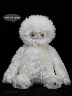 YETI!! $35 at vuduberi's etsy shop