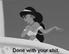 Community Post: 13 Gifs Of Disney Princesses Swearing
