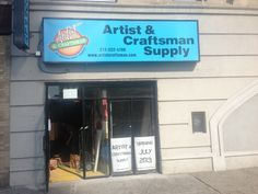 Alton Weekes tells us an artist supply store opens in Harlem, Artist & Craftsman Supply