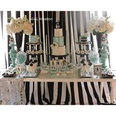 Tiffany and CO. Birthday Party Ideas | Photo 2 of 37 | Catch My Party