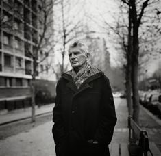 Samuel Beckett by John Minihan, Boulevard St Jacques, Paris, 1985