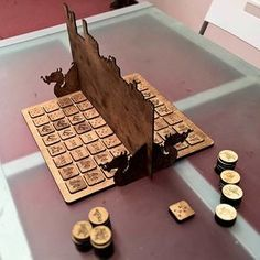 Laser Cut Cyvasse Game (From Game of Thrones novels) - Project Inspiration - Glowforge Owners Forum