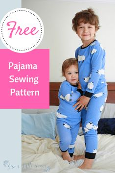 Free Pajama Sewing Pattern - Sew a Little Seam