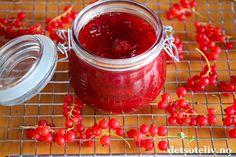 Jordbær- og ripssyltetøy | Det søte liv