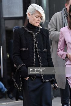 Kate Lanphear is seen arriving at Dries van Noten...