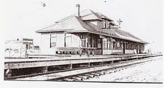Railway Station and Bakery, Alix AB