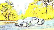 "New artwork for sale! - "" Porsche 918  by PixBreak Art "" - http://ift.tt/2m4spo6"