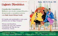 12º Encontro do 4º Ciclo do Grupo de Estudos dos Saberes Femininos | Ciranda de Curandeiras