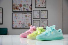 eb18294c8 Puma x Cara Delevingne Suede Heart Collection - EU Kicks  Sneaker Magazine  Modas Juveniles