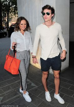 Emily Atack enjoys a date night with model boyfriend Jack Vacher #dailymail