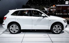 2014 Audi Q5   One classy looking suv.  Obviously way above our price range but a beautiful car.