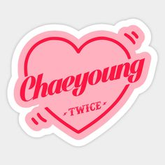 Twice Bias Chaeyoung - Twice Kpop - Sticker Pop Stickers, Printable Stickers, Overlays, Logo Twice, Kpop Diy, Bullet Journal Notes, Chaeyoung Twice, Candle Labels, Rapper