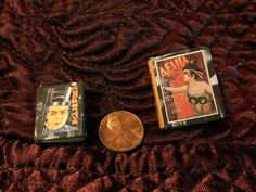 "The finished Free Miniature Book Printie of Alexandra Exter's Costume & Set Designs for Aelita Queen of Mars (1924), as made up in full size 1.5"" and Half Size at 1""."