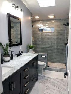 Bathroom Tile Designs, Bathroom Design Luxury, Bathroom Design Small, Bathroom Layout, Small Master Bathroom Ideas, Small Bathroom Remodeling, Cozy Bathroom, Diy Bathroom Decor, Modern Bathroom
