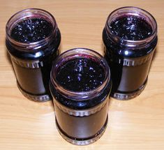 Blueberry Jam, Mason Jars, Pudding, Gems, Stuffed Peppers, Desserts, Recipes, Food, Canning