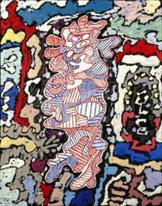 Jean Dubuffet, Court les rues, 1962.