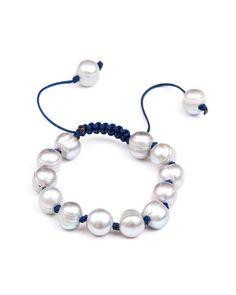 Meridian Avenue Grey Pearl Bracelet | Love & Pieces Online Jewelry – Love & Pieces | Designer Online Jewelry Boutique