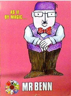 I have nick named our local community charity shop mr benns. as if by magic, whatever you want appears in the shop ; 1970s Childhood, My Childhood Memories, Best Memories, Morning Cartoon, Kids Tv Shows, 80s Kids, Vintage Tv, Ol Days, Old Tv