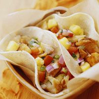 Better homes and gardens recipe - grilled fish tacos. Healthy, quick dinner.